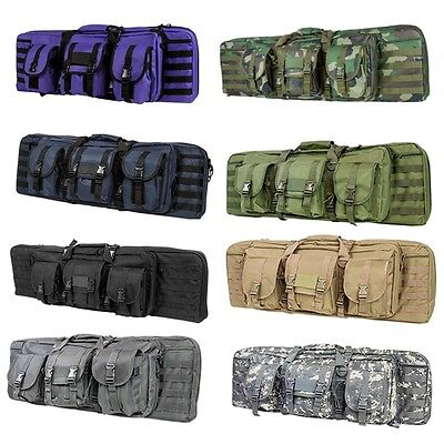"NcSTAR Tactical Double Padded Carbine Rifle Range Gun Case Bag 36"" 42"" 46"" 55"""