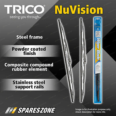 2 Trico Nuvision Wiper Blades for Mercedes Benz ML W163 Land Rover Range Rover