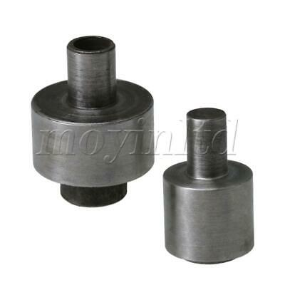 4.1 x 3 cm Metal Eyelet Dies Mould for 1400# 17mm Electric Punch Tool Silver