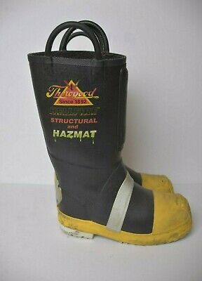 86818581ce8 THOROGOOD RUBBER INSULATED Lug Sole Firefighting Boot - Size 7.5M ...