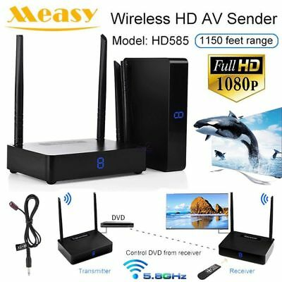 IR 4K Wireless HDMI Transmitter Receiver Video 5.8GHz 350m AV Sender Extender xh