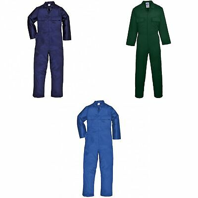 Portwest Mens Euro Work Polycotton Coverall (S999) / Workwear (Pack of (RW6973)