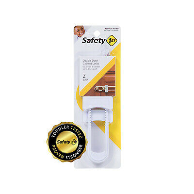 SAFETY 1ST/DOREL 2-Pack Cabinet Slide Lock 11002
