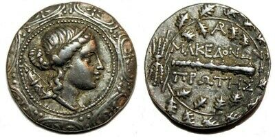 Macedon under Roman Rule, First Meris. Ca. 167-149 BC. AR Tetradrachm