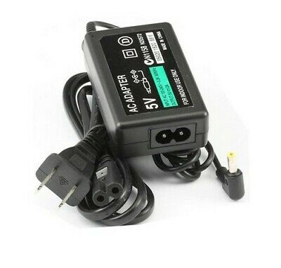 AC Adapter Home Wall Charger Power Supply for Sony PSP 1000 2000 3000 w/ Cord