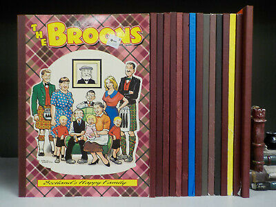 The Broons & Oor Wullie - 16 Books Collection! (ID:5337)