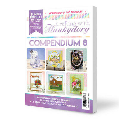 Crafting With Hunkydory Compendium 8 With FREE Papercraft Kit