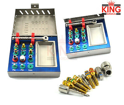 Dental Bone Expander Kit Sinus Lift Saw Disks With Surgical Implant Instruments