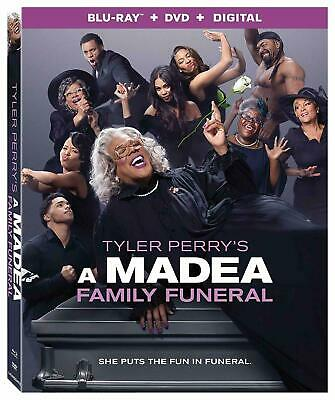 A Madea Family Funeral BLU-RAY/DVD/DIGITAL with SLIPCOVER New