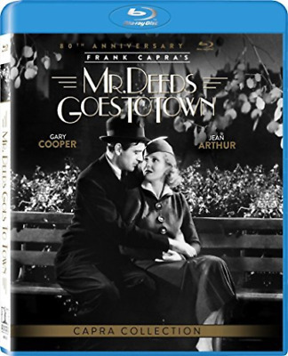 MR DEEDS GOES TO TOWN (80TH...-MR DEEDS GOES TO TOWN (80TH ANNIVERSA Blu-Ray NEW