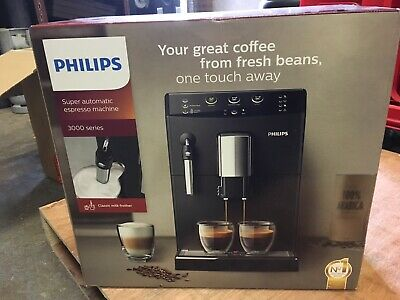 Philips HD8827/01 3000 Series Super Automatic Espresso Machine Black Genuine NEW