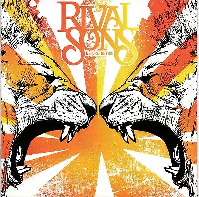 Rival Sons ‎– Before The Fire RARE NEW CD! FREE SHIPPING!
