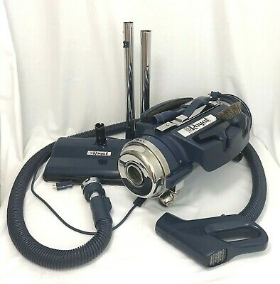REFURBISHED ROYAL Canister Vacuum Cleaner Model 4250 Blue w/All Attachments NICE