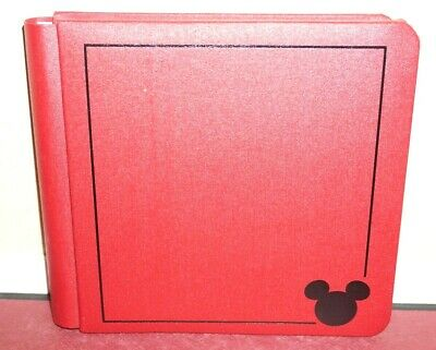 Creative Memories 7x7 Album Red Disney Mickey Mouse with PAGES