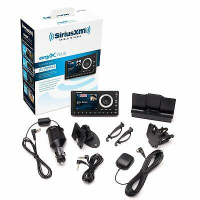 Sirius Xm Satellite Radio Car Portable Onyx Plus Dock Vehicle Kit Antenna Music