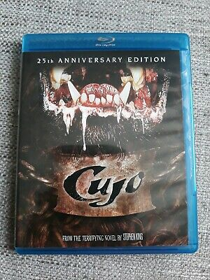 Cujo Blu Ray Film - Stephen King - Rare - 25Th Anniversary Region Free