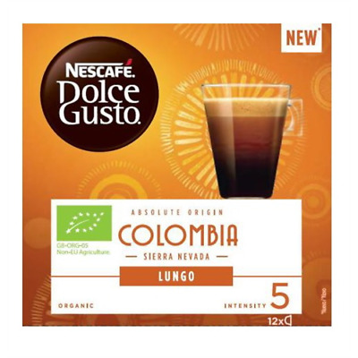 Pack 3 Cajas Dolce Gusto Colombia 12 Capsulas
