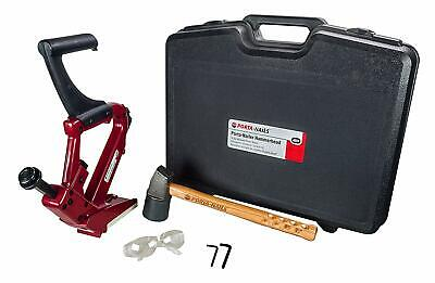 Porta Nailer Model 402 with Carrying Case & Hammer Secret Flooring Nail Gun