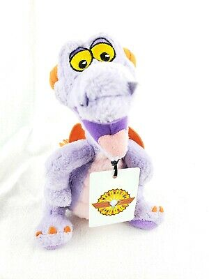 Walt Disney World Epcot  Figment Plush Stuffed Lanyard  Imagination Institute