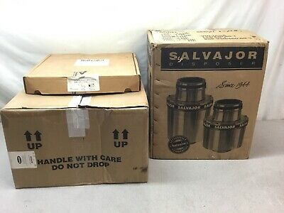 NEW Salvajor 200-SA-ARSS 2hp Sink Mount Disposer w/ Automatic Reversing Controls