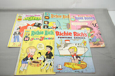 Richi Rich ´S Harvey Comics 5 Issues English Z: 2-4 (MF20)