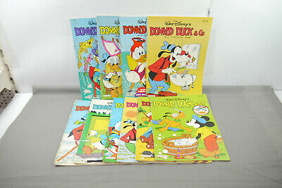 Donald Duck 10 Comic Issues Danish Denmark Z: 2-3 (MF20)