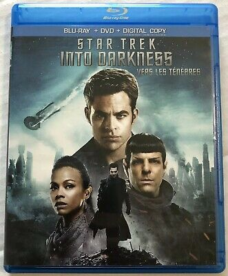 Star Trek Into Darkness (Bluray, Dvd, 2013) Canadian