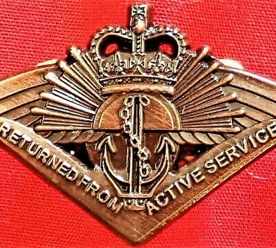 1953+ The Australian Returned From Active Service Badge Replica Medal Anzac
