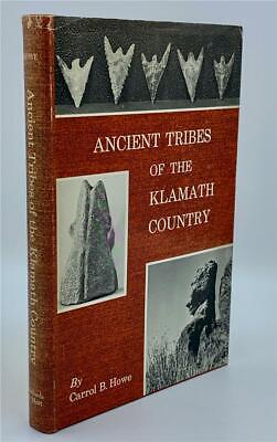 1968 Ancient Tribes Klamath Country Indian California Relics Artifacts Native