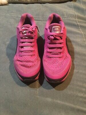 low priced b32c5 a2c3b Nike Air Max 2014 Womens Size 6 Pink   Black Breast Cancer Awareness