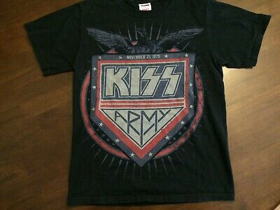 Kiss Army T Shirt Size Small Great Condition