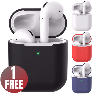 AirPods Silicone Case Cover For Apple Airpod Charging Case Protective Skin