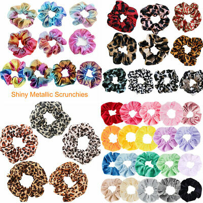 5-20PCS Ladies Velvet Hair Scrunchies Elastic Scrunchy Ponytail Hair Ties Ropes