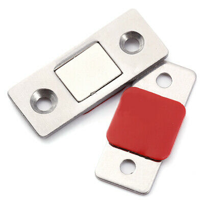 Strong Magnetic Catch Latch Ultra Thin For Glass Door Furniture Cabinet Cupboard