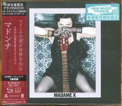 MADONNA MADAME X SHM-CD Japan Deluxe Edition Special Package Bonus Track 2 Discs