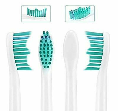 4PC Electric Toothbrush Replacement Heads for Philips Sonicare HX6014 White