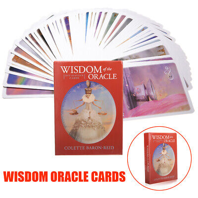 AU Wisdom of the Oracle Divination Cards Deck by Colette Baron-Reid Prophecy
