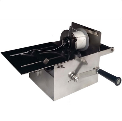 New 52mm Manual Stainless Steel Hand-rolling Sausage Tying & Knotting Machine m