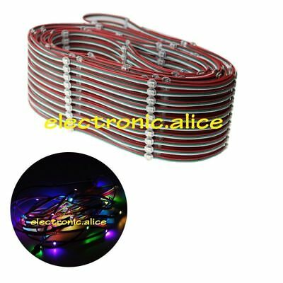 WS2812B led pixel module String Light Full Color RGB with 10cm wire5V 50-500X