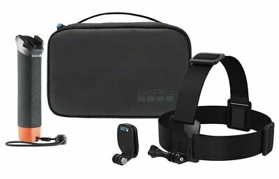 GoPro Adventure Kit AKTES-001 The Handler Head Strap Quick Clip & Carry Case New