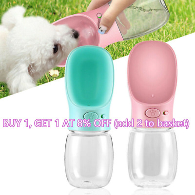 Puppy Cat Outdoor Water Dispenser Travel Cup Pet Dog Water Bottle Drinking Bowl
