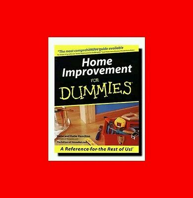 ☆Gd%book-Home Improvement For Dummies-Carpentry+Plumbing Electrical+In+Outside☆