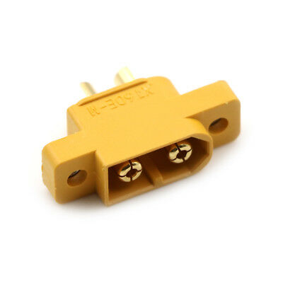 XT60E-M Mountable XT60 Male Plug Connector For RC Models Multicopte Y0