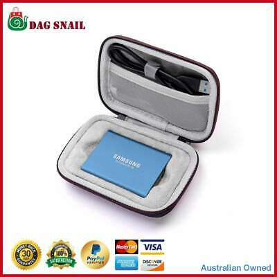 Protective Storage Carry Hard Case Bag Box Samsung T5/T3/T1 Accessories