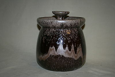 Blue Mountain Pottery #406 Mocha Cannister With Lid Mint 41034