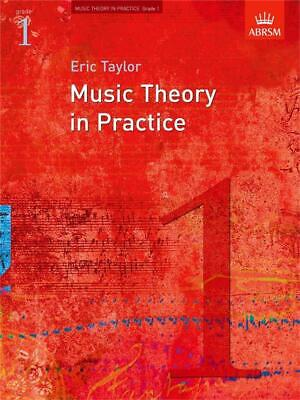 Music Theory in Practice Grade 1 ABRSM Eric Taylor 9781860969423 Book