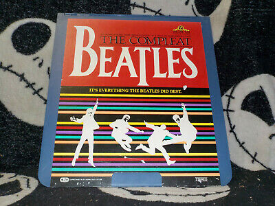 The Compleat Beatles Rca Selectavision Videodisc Ced Completo Envío Gratis $30