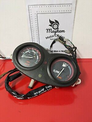 SYM Shark RS 125 2003 Speedo Clocks and Wiring Harness