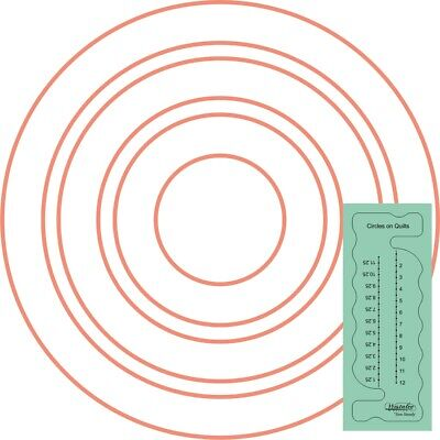 Westalee Design Circles on Quilts Template For Longarm Machines
