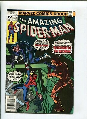 Amazing Spiderman #175 (9.2) Big Apple Battleground! 1977